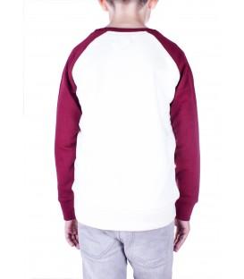 School Contrast Sweatshirt