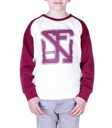School Contrast Sweatshirt Unisex
