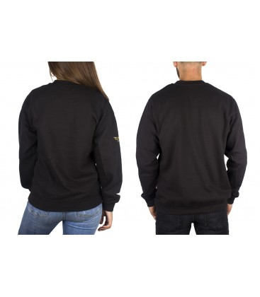 Sudadera Three Black