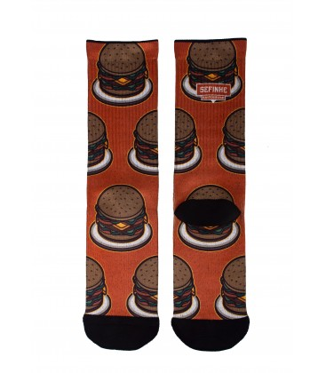 L.E. BastoDesing Bandit Socks