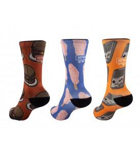 E.L. Bandit Socks por BastoDesing