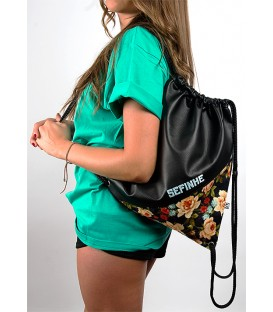 Fower Pattern Bag