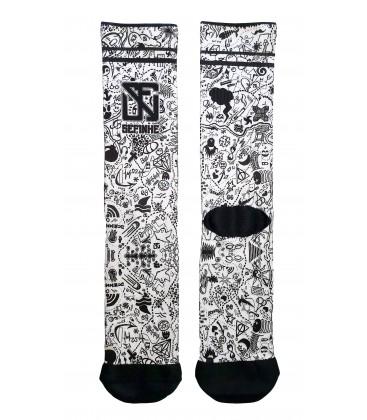 Bandit Socks Lalala
