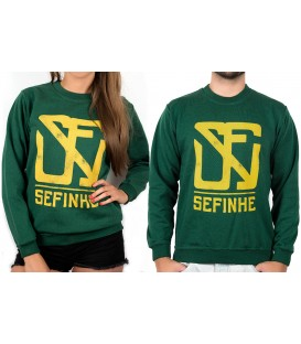 Sweatshirt Green Bottle