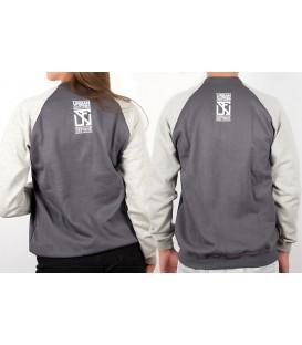 Sweatshirt University Plom