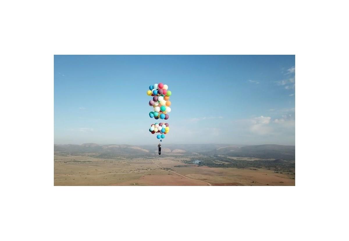 Curiosidades y noticias: ¿Volar con globos?
