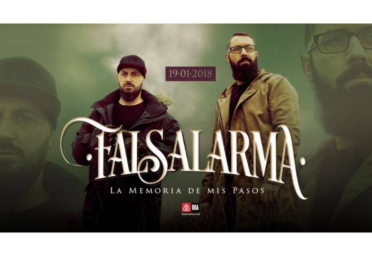 """Musica para escuchar: Falsalarma """"La memoria de mis pasos"""""""