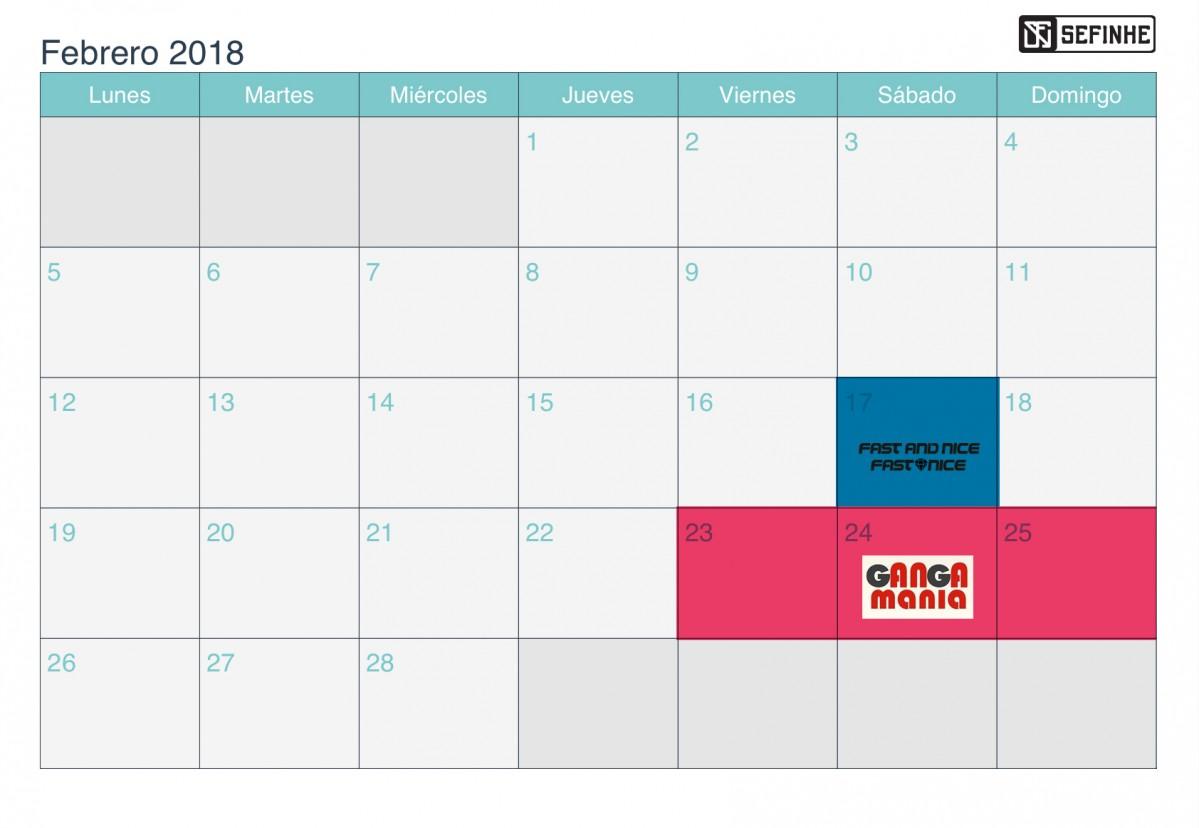 Sefinhe news: Eventos Febrero